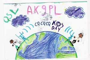 Kids Day 2016 QSL Card